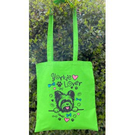 Zöld Yorkie Lover táska