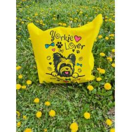 Sárga Yorkie Lover táska