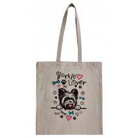Szürke Yorkie Lover táska