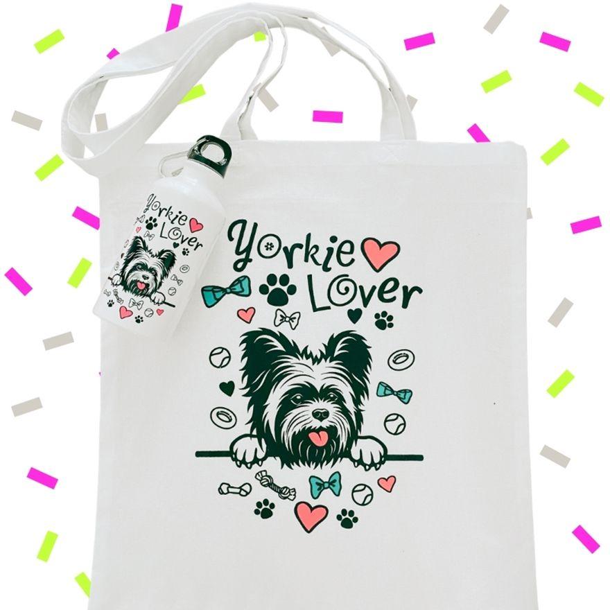 Fehér Yorkie Lover szett