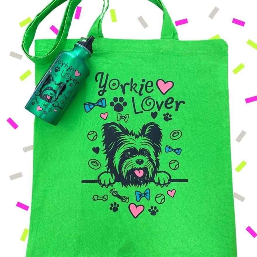 Zöld Yorkie Lover szett